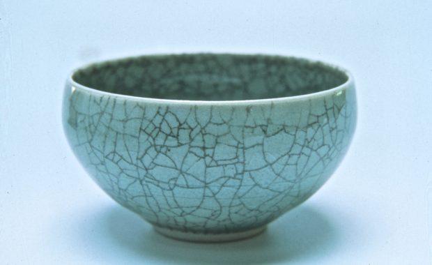 Eve Lurie Porcelain — Celedon Bowl
