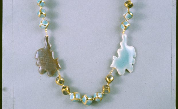 Kitties Porcelain Necklace